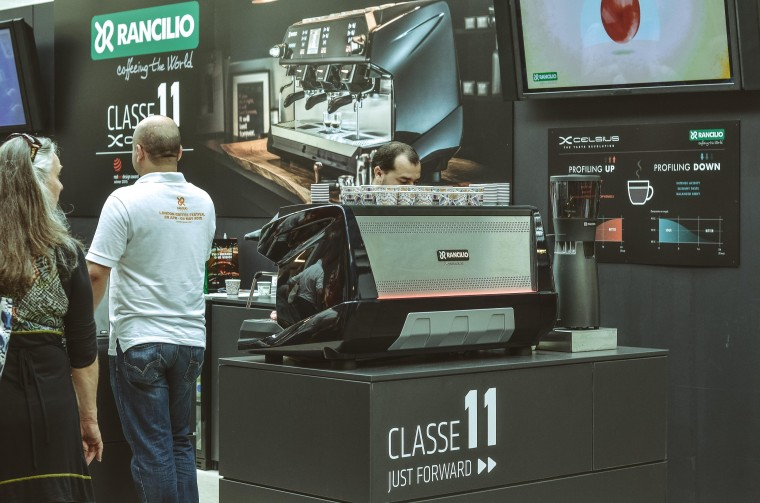 Newest coffee equipment showcase