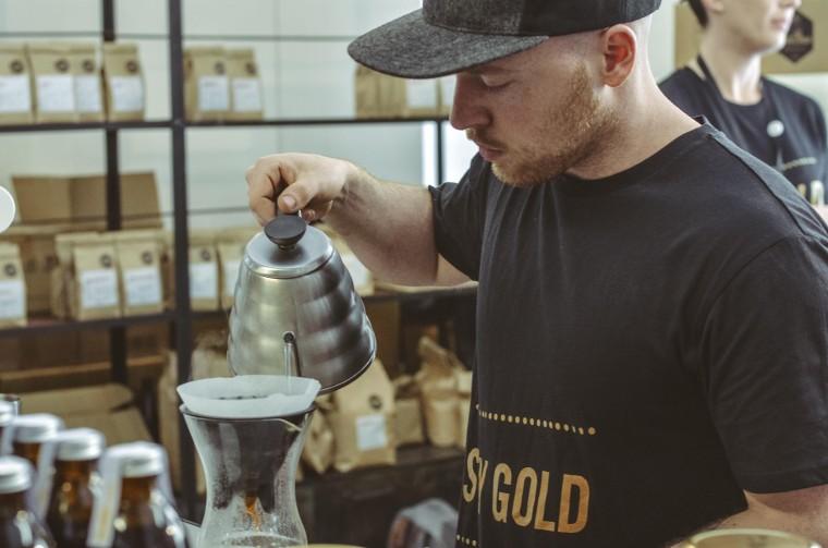 Ozone coffee brewing